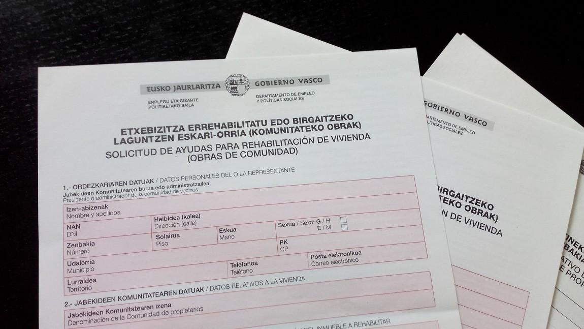 Ayudas del Gobierno Vasco para aislar tu comunidad