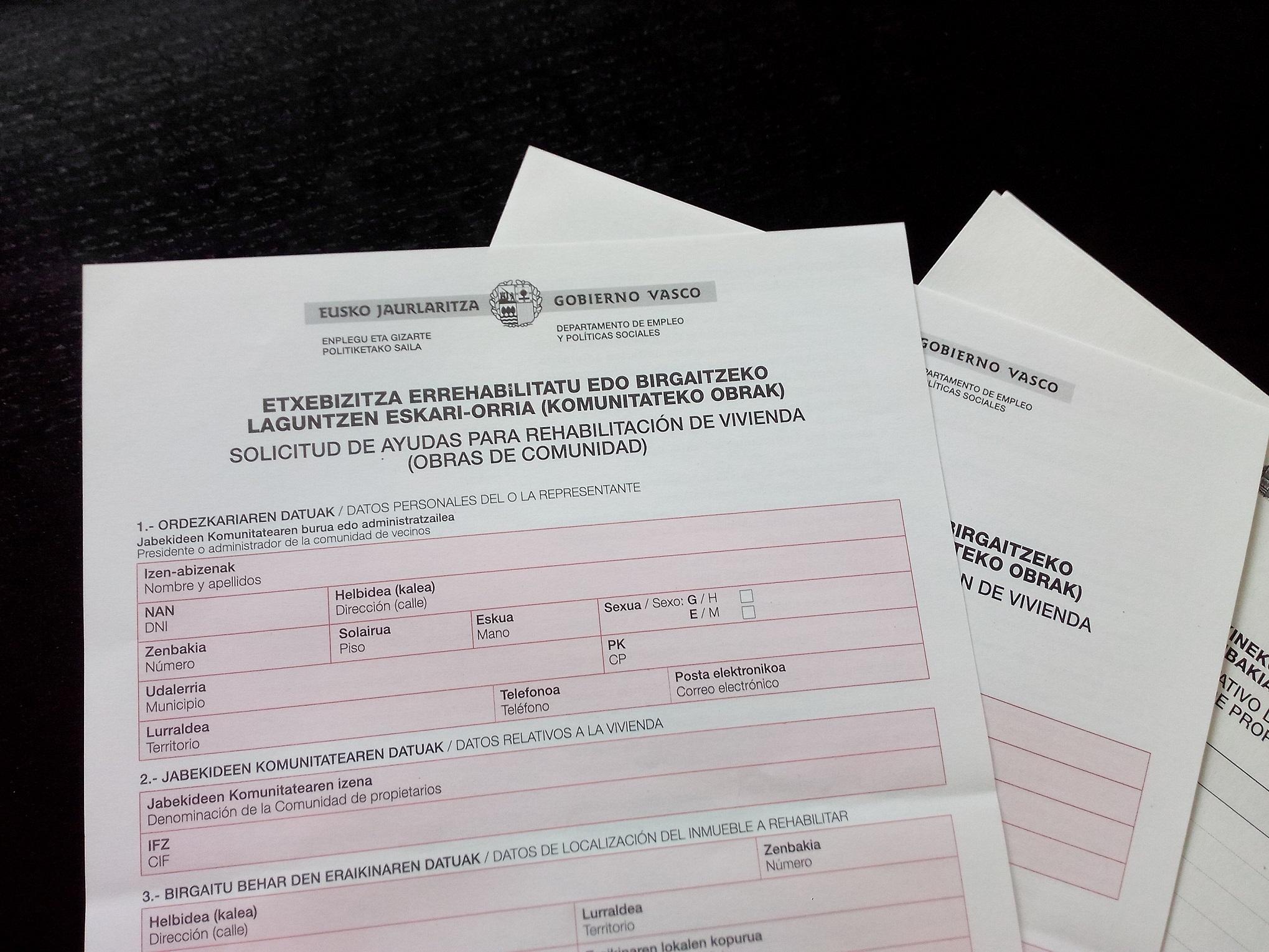 ayudas del gobierno vasco en rehabilitacion sights sounds